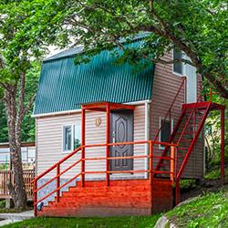 Отдых в андреевке-земноморье: изображение двухэтажного домика